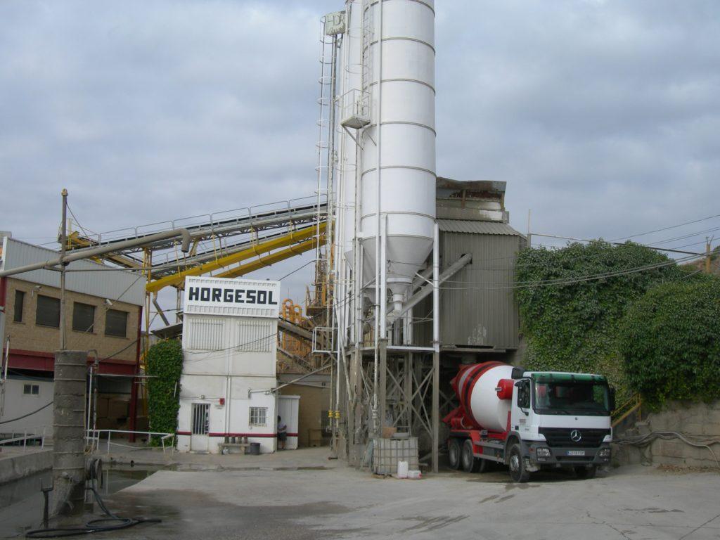planta hormigón Guadalix